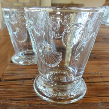 Skleněné poháry 7