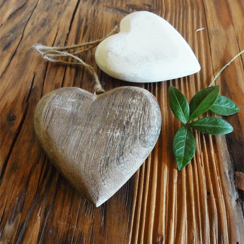 Srdce, závěsné dekorace
