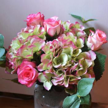 Umělé květiny, věnce